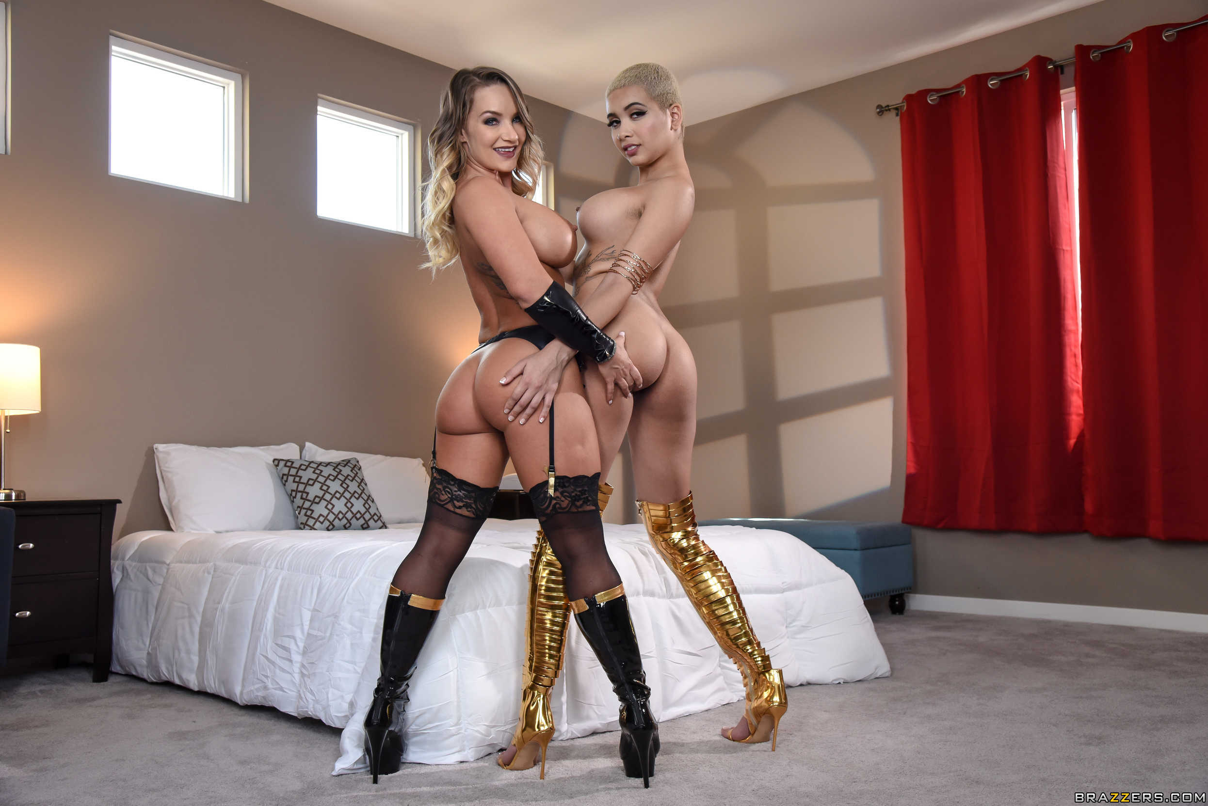 ZZ Series - Cali Carter, Aalitah Hadid - The Exxxceptions Episode 2