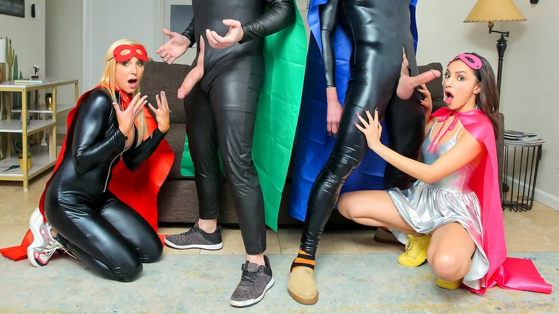 [FamilySwap] Hime Marie, Sophia West - When My Swap Family Does A Super Hero Event NewPorn2021