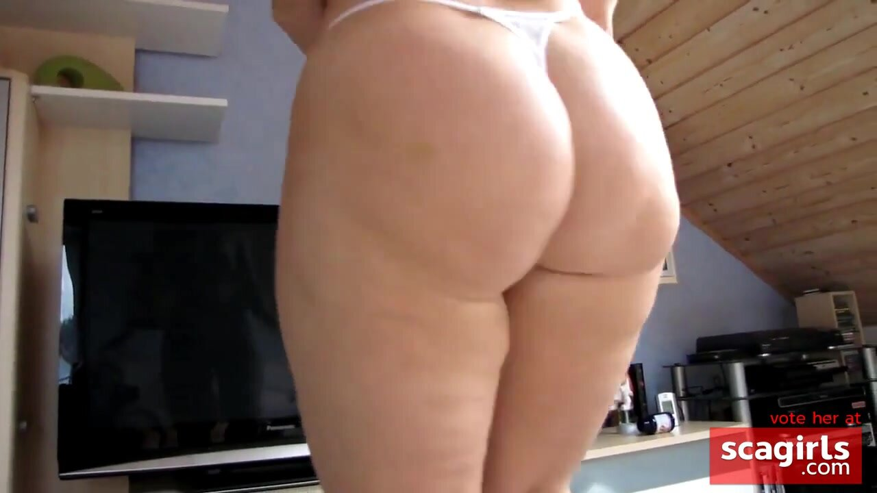 homemade, dancing with one of the biggest asses i've seen 2