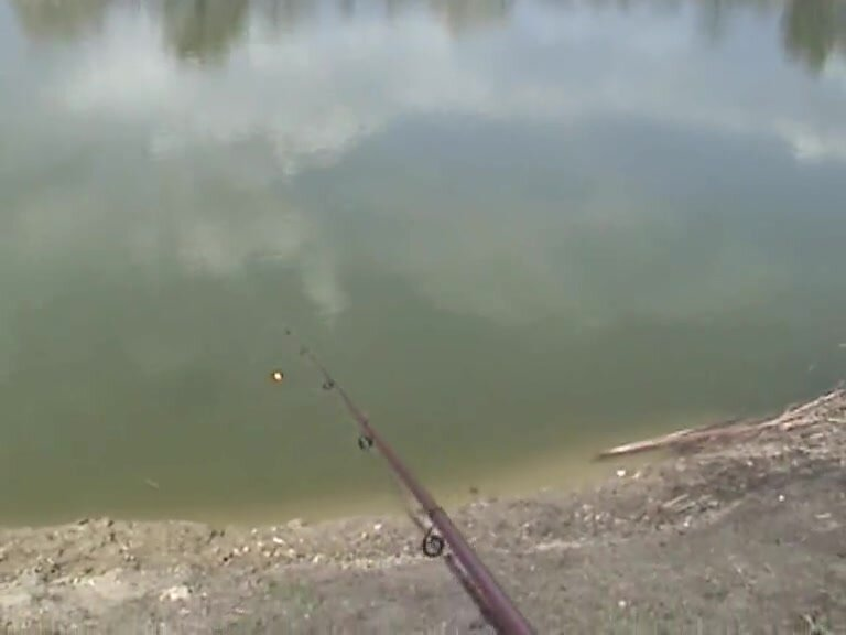 Fishing With Blonde Chick